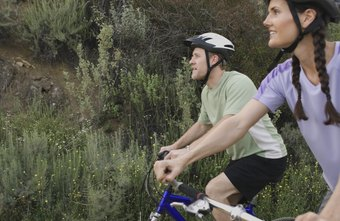 Outdoor bike riders can enjoy the scenery.