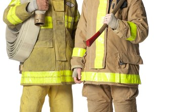 Firefighters wear a wide variety of protective gear.