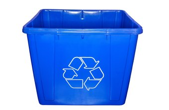 Recycling coordinators arrange the sale of materials like paper and aluminum.