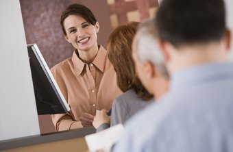 A bank teller is the face of a financial institution.