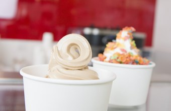 Frozen yogurt sales have risen significantly in recent years, with offerings from several national franchise companies.