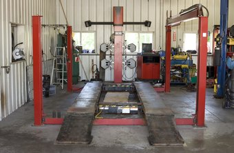 Auto repair shops perform complex jobs that car owners cannot do at home.