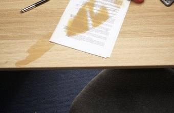 A spilled drink may not be the end of the world, but it could mean the end of your laptop if you don't react quickly.