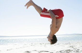 Back flips can help you develop strength and flexibility.