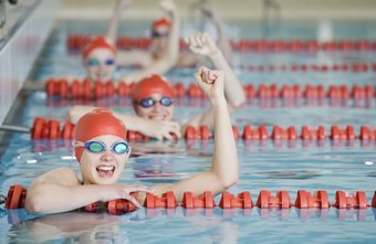 Hold a swim-a-thon to raise money for your team.