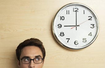 Breaking your day into specific job responsibilities can make time go by faster.