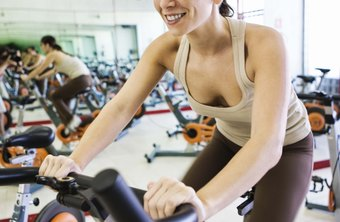 Burn calories and strengthen your heart on a stationary bicycle.