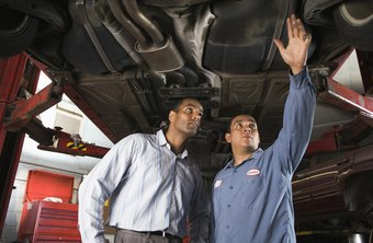 Auto maintenance mechanics service and repair cars and light trucks.