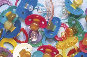 Some parents prefer to buy personalized pacifiers for their children.