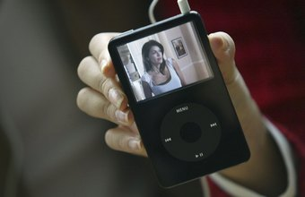 You can use desktop conversion software to convert your videos to a compatible iPod Video format.