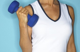 Tone and strengthen your neck and shoulders by using hand weights to perform a variety of exercises.