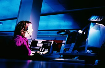 Most, but not all, sheriff's department dispatchers use state-of-the-art technology.