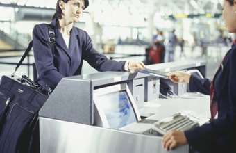 Airline assistants must often deal with disgruntled passengers.