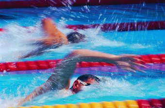 Freestyle can technically be any stroke, but front crawl is most common.