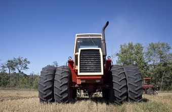 Tractors are expensive items that are often tracked in fixed asset inventory.
