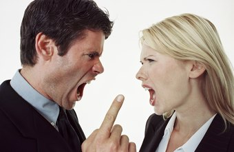 Employees who argue with the boss are likely to get bad references.