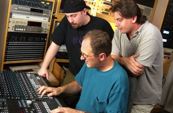 Studio engineers need a variety of training and technology skills to make and mix recordings.