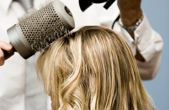 Hairdressers style clients' hair to help them look their best.