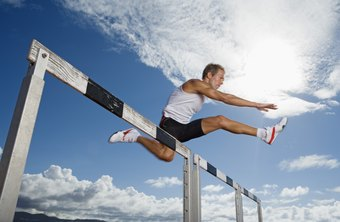 Male hurdlers can develop more explosive jumping power with regular plyometric training.