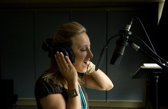 Small businesses often can find local talent to participate in the production of an ad jingle.