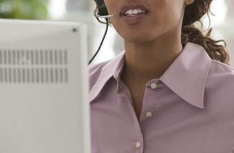 As a virtual assistant, you may perform customer service for clients from your home.
