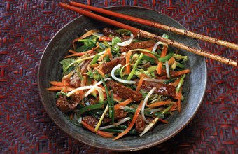Traditional Asian meals are low in fat and high in fiber.