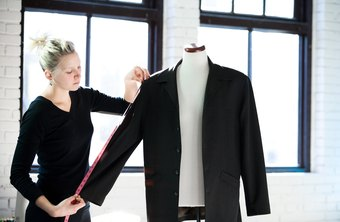 Clothing construction requires precise measurements.