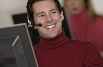 An administrative assistant provides customer service.