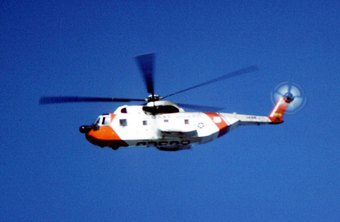 The Coast Guard flies both helicopters and regular airplanes.