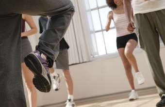 Aerobic dance is a cardio-based group exercise class.