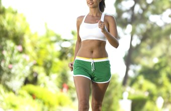 Aerobic exercises such as walking use carbs and fats to fuel your activity.