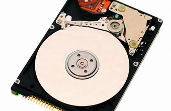 A hard drive can be split into multiple partitions, each acting as an individual physical drive.