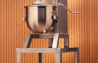Powerful commercial mixers are a mainstay of most small bakeries.