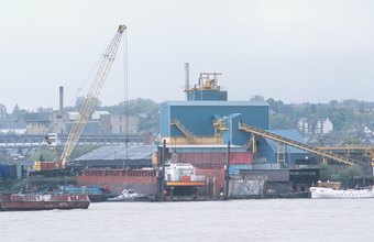 Barge crane operators generally earn higher salaries in major ports.