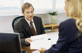 HR degree holders often interview prospective employees.