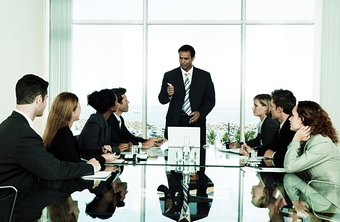 A board of directors provides outside resources to a small company.