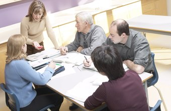 Group workshops are a useful way to develop employees in work teams.