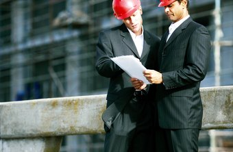 Construction executives often visit job sites to inspect progress.