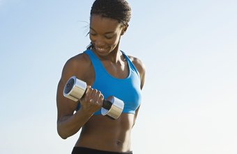 Lifting weights can reduce outer arm flab.