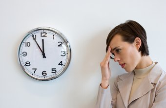 Time constraints posed by deadlines can be a source of stress for project managers.