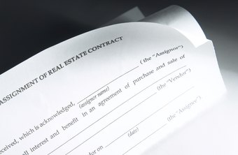 Many contracts provide a space for you to type or write in specific details.