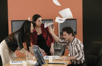 Arguments you have with co-workers are shaped by the perceptions they have of you.