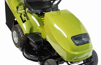 Small-engine repair experts often maintain and troubleshoot riding lawnmowers.