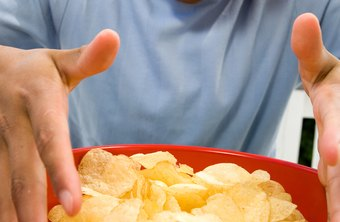 Junk food, such as potato chips, is tempting, but bad for your health.