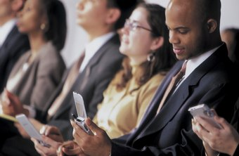 Texting while in a meeting can cause some embarrassing moments.
