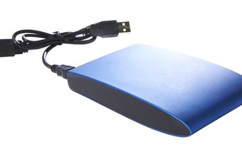 External hard drives are convenient backup locations for Windows Vista PCs.