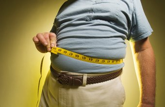 Stomach flab is the result of a calorie excess.