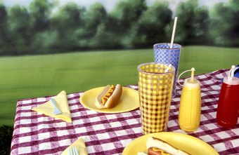 Among the products plastics engineers design are picnic plates and condiment bottles.