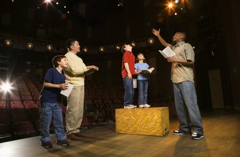 Some scriptwriters create plays for children.