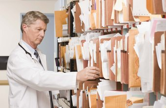 Running your own medical business requires keeping accurate records, both for medical purposes and for accounting.